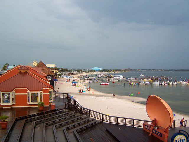 Pensacola Beach Quieer Boardwalk