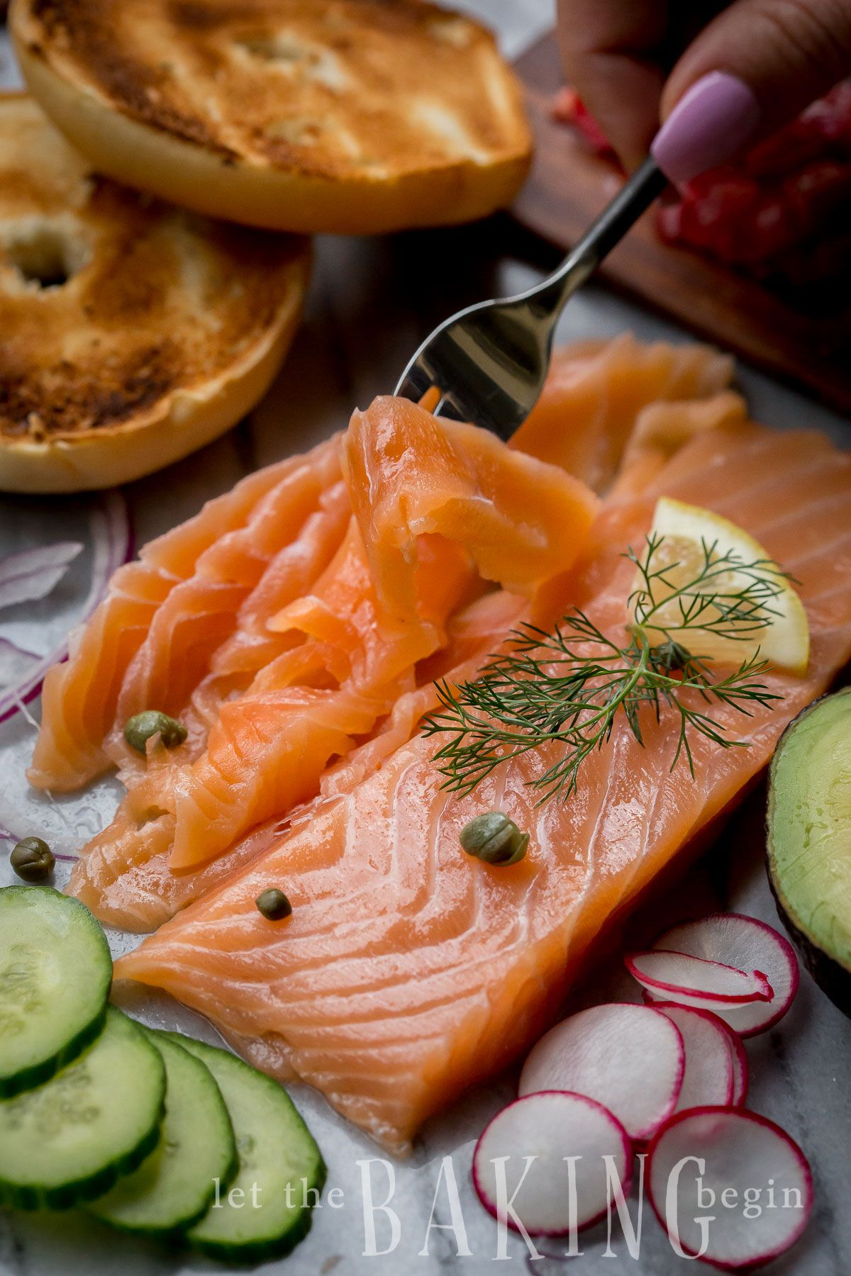 This Cold Smoked Salmon Recipe Makes The Perfect Appetizer Or Dinner Here S How To Make It With No S Smoked Salmon Recipes Salmon Recipes Salmon Glaze Recipes