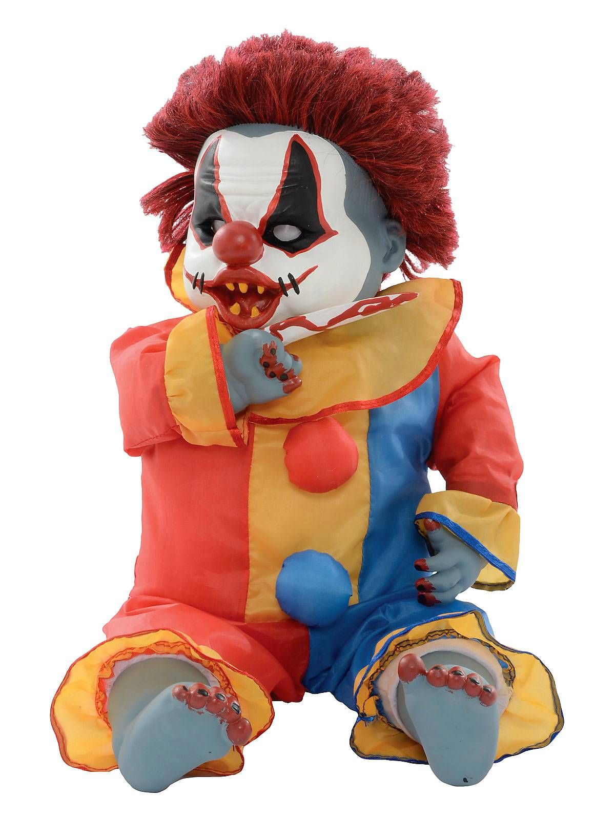 """25"""" Ouchy Animatronic Clown New for 2014 Halloween Props"""