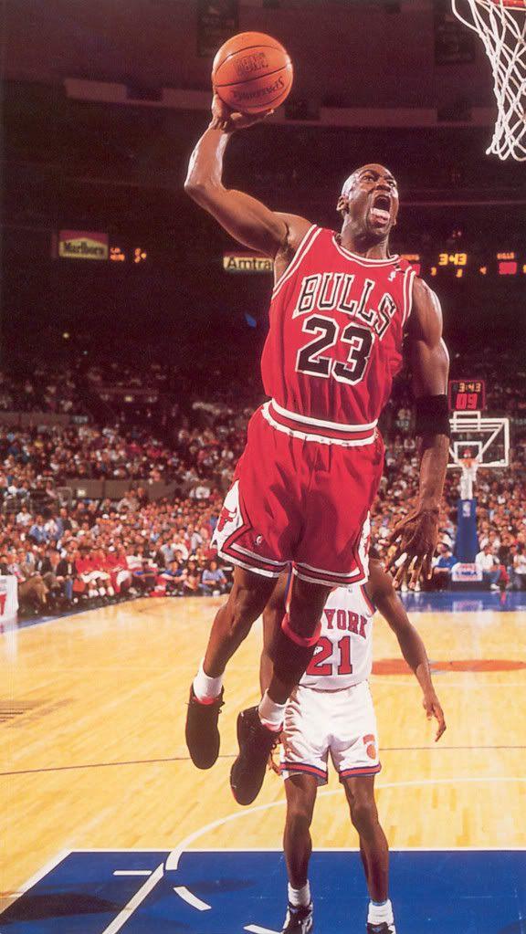 Michael Jordan Chicago Bulls Check out more NBA Action at: http://hoopsternation.com