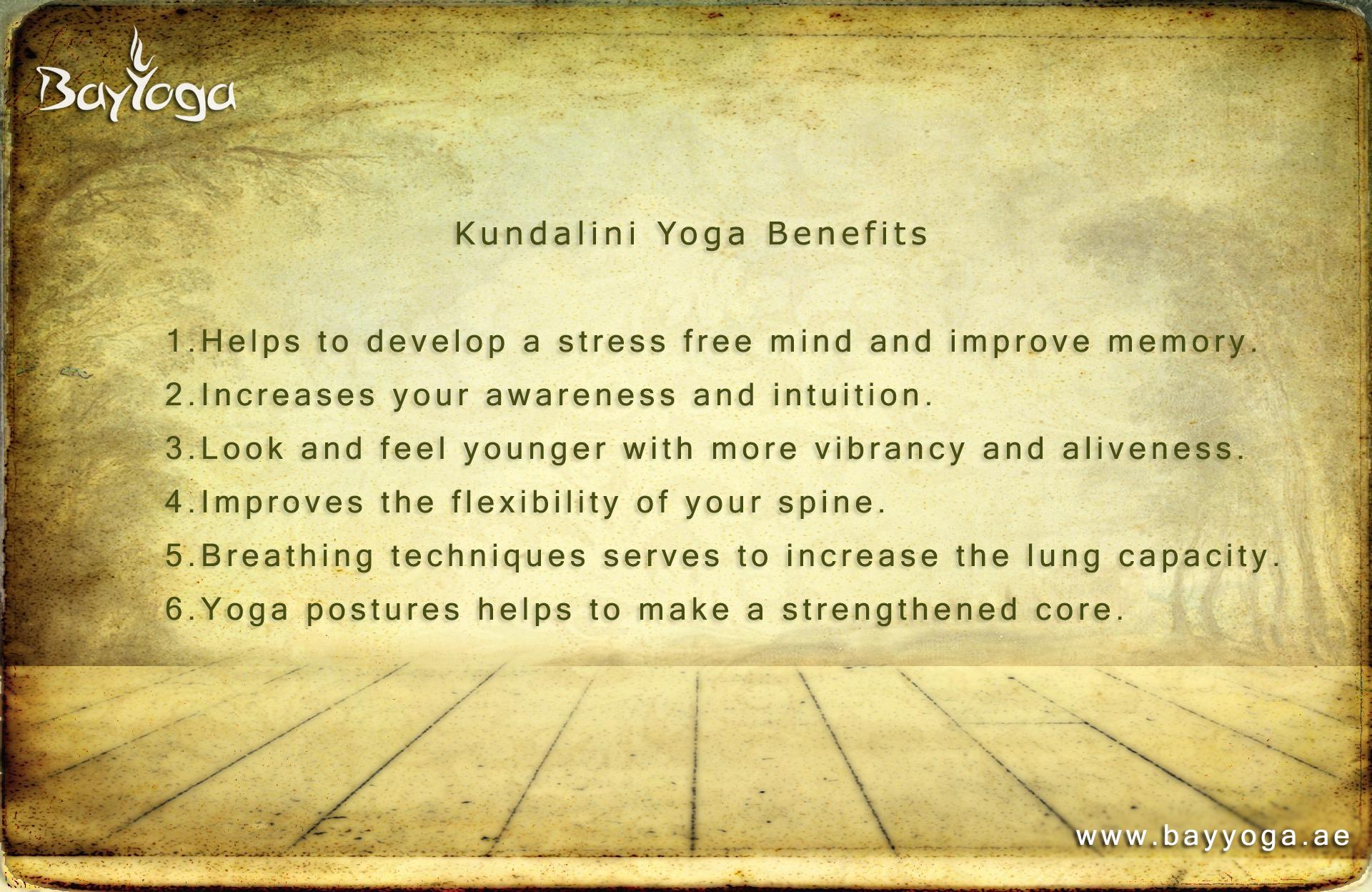 Rapid Benefits of #Kundalini Yoga Practice #bayyogadubai #yoga