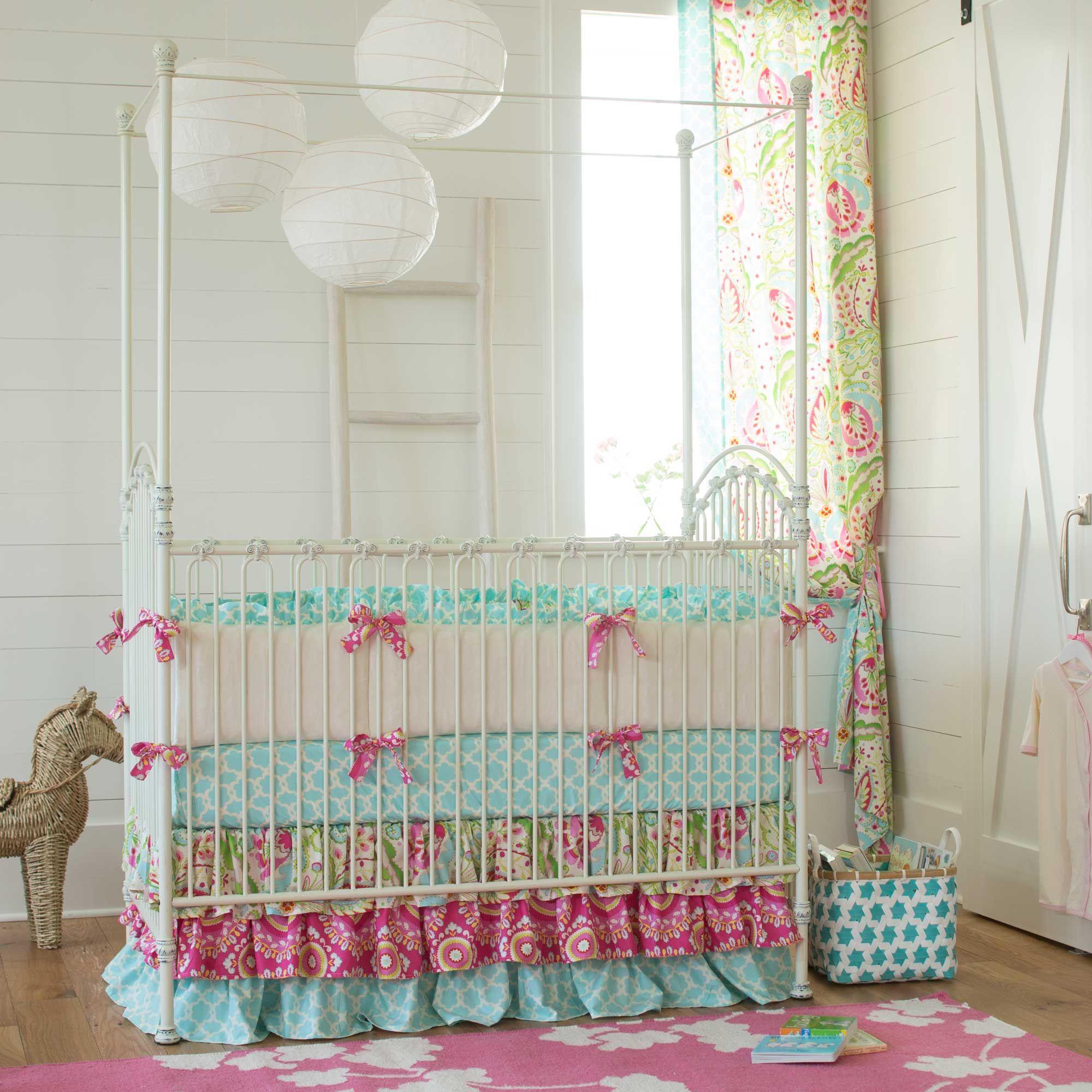 Kumari Garden Baby Crib Bedding