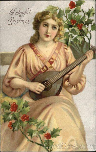 1908 ~ A Joyful Christmas - ephemera