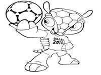 wk voetbal brazilie 2014 kleurplaat school