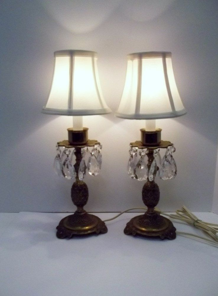 Crystal Lamp Etsy