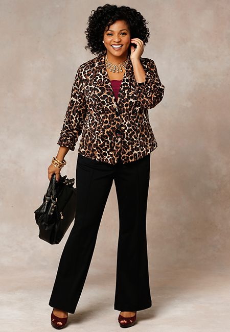 5096a3f9c17 Roaring Success-Plus size work outfit from Cato