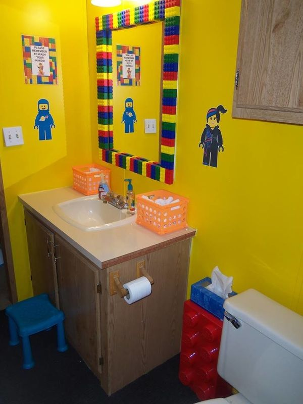 Childcare Bathrooms Changing Areas Daycare Spaces Daycare Decor Toddler Daycare Rooms