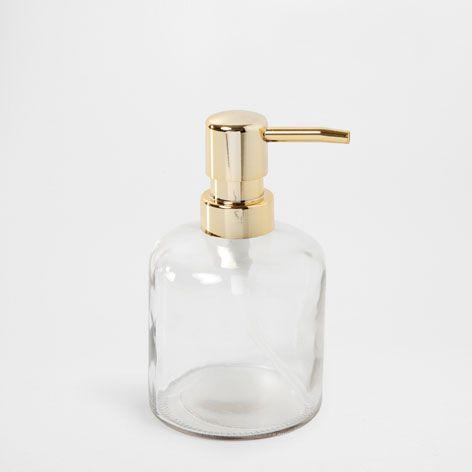 Dosificador accesorios ba o zara home espa a casa for Zara home toallas bano