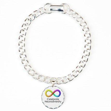 6039969b4b Celebrate Neurodiversity Charm Bracelet, One Charm | autism ...