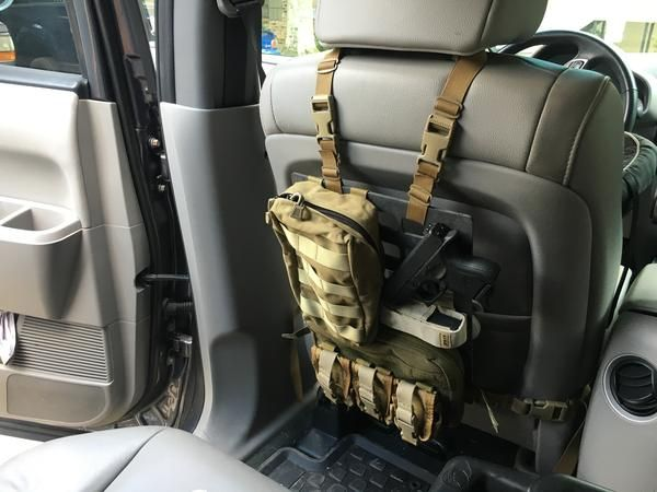 Pelican Strategic Rip M Rigid Molle Panel Mounted Vehicle