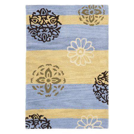 Photo of Safavieh Soho Codi Floral Wool Area Rug or Runner, Gold