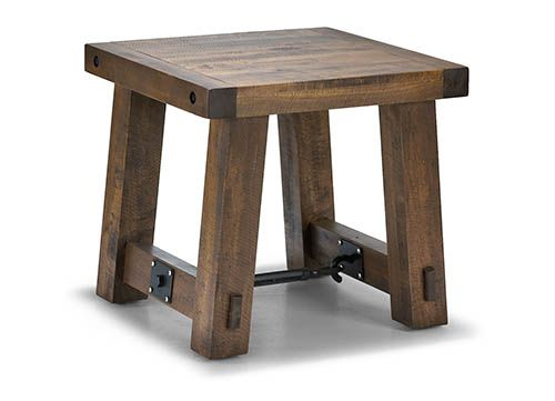 Small Step Stool With Through Mortise And Tenons And