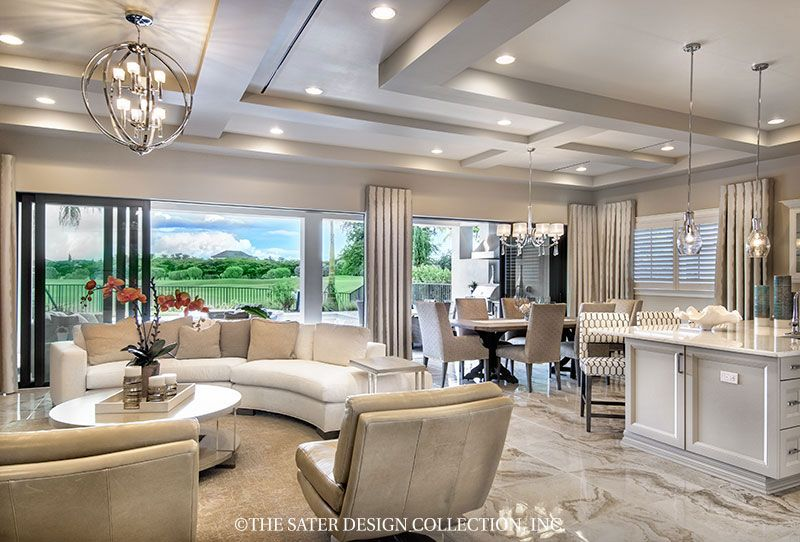 The Sater Design Collection 39 S Luxury Tuscan Home Plan