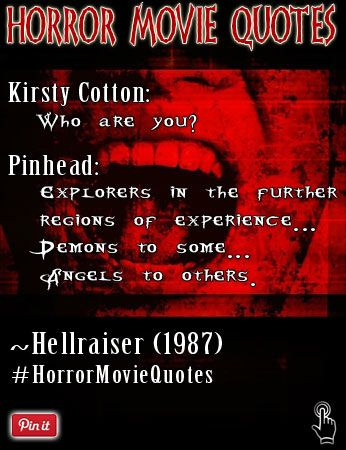 Pinhead Quotes : pinhead, quotes, Excerpt, Pinhead,, Cenobite, Movie, Hellraiser(1987):, Kirsty, Cotton:, You?