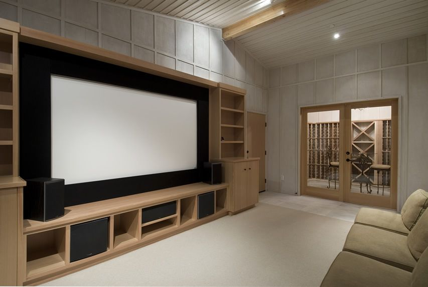 21 Incredible Home Theater Design Ideas & Decor (Pictures) | Large ...