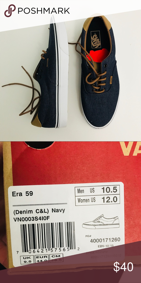 Vans Era 59 Brand new with tags and box Vans Shoes Sneakers