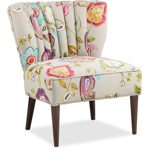 Delightful Jla Kenzie Floral Fabric Accent Chair ($279) ❤ Liked On Polyvore Featuring  Home,