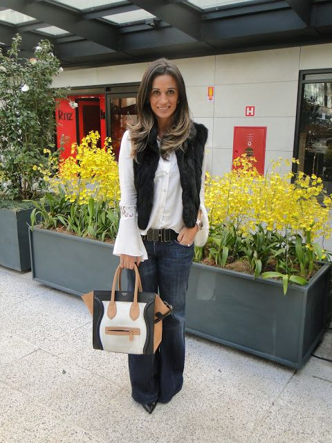 Blog da Maria Sophia │ Lifestyle and Fashion: Look desfile+almoço: