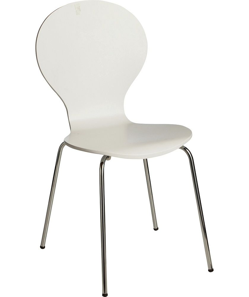 Colourmatch Super White Bentwood Dining Chair At Argos Co Uk Your Online