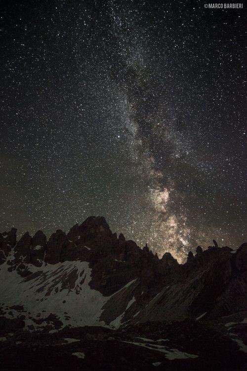 Jamas Rendirse Milky Way By Marco Barbieri Sky Landscape Milky Way Gorgeous Scenery