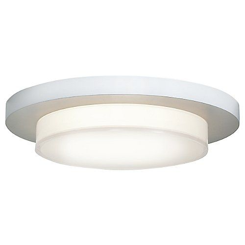 Access lighting 1 light wide led flush mount ceiling fixture from white acrylic indoor lighting ceiling fixtures flush mount