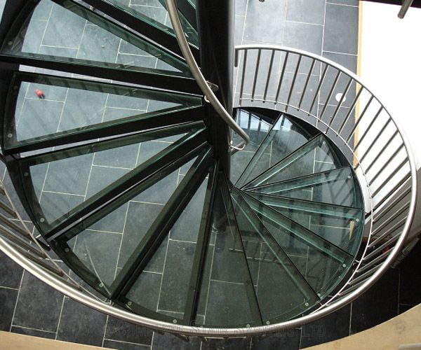 Best Modern Glass Stainless Staircases Spiral Staircases And 400 x 300