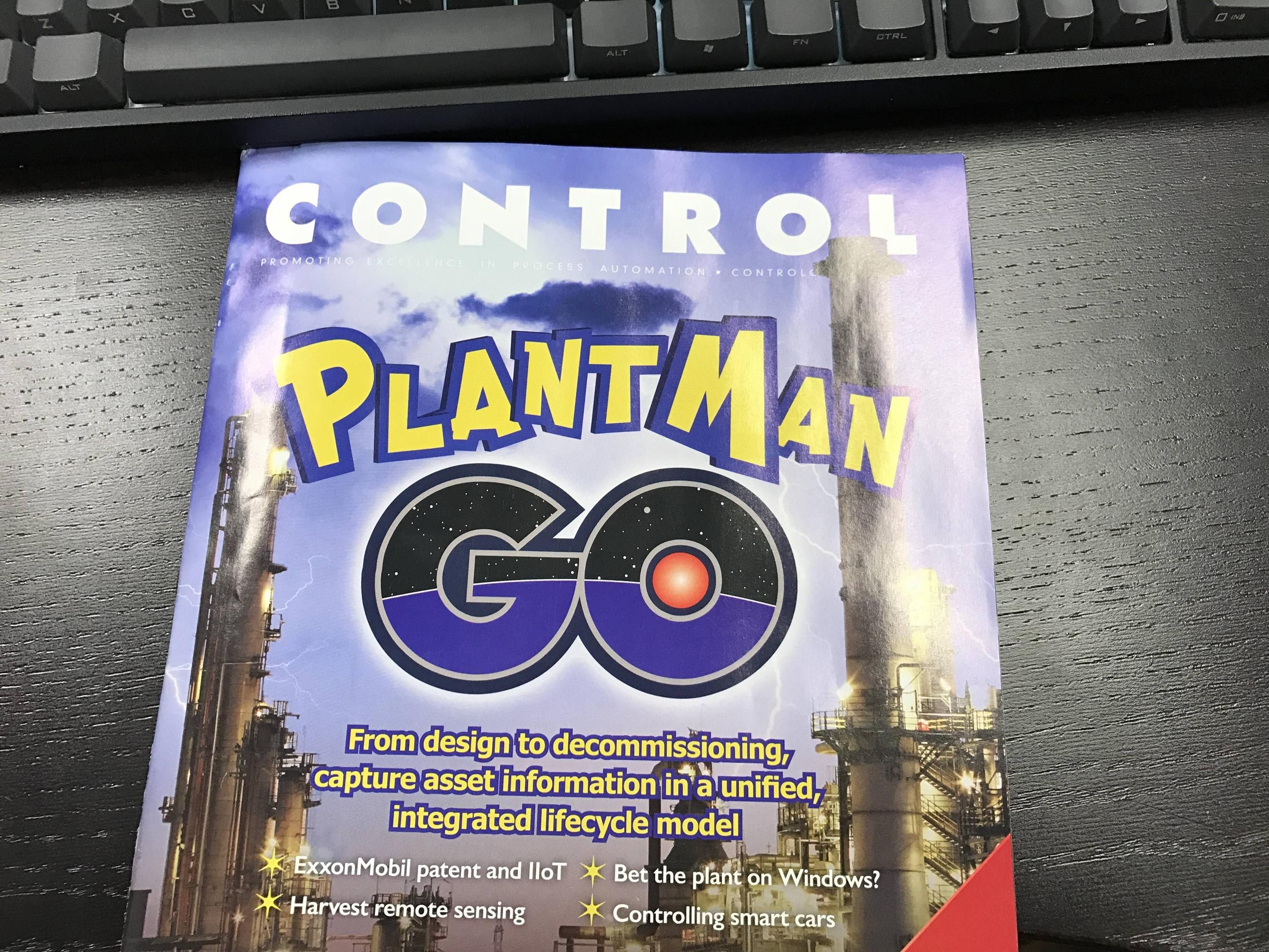 I work in the process control industry and this just came in the mail