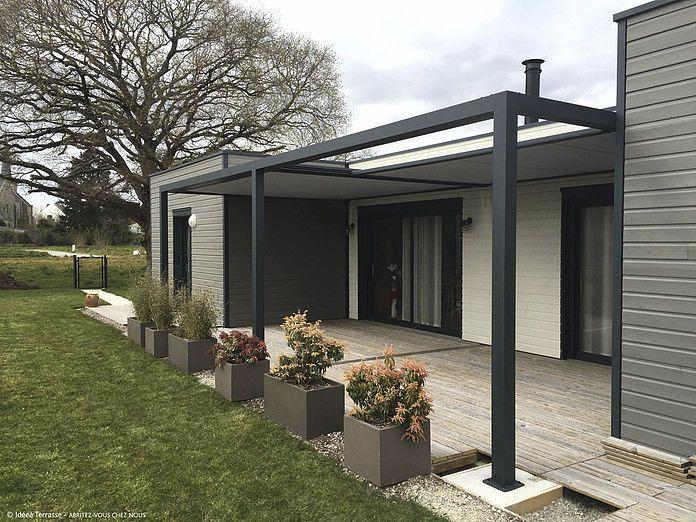 couverture terrasse aluminium toile bache pergola voile ombrage store banne for couverture. Black Bedroom Furniture Sets. Home Design Ideas