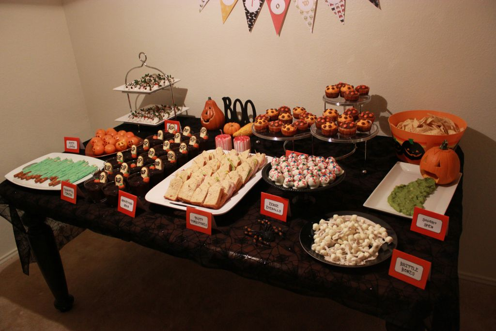 Halloween Party Food Table Halloween Party Halloween Food For Party Adult Halloween Party
