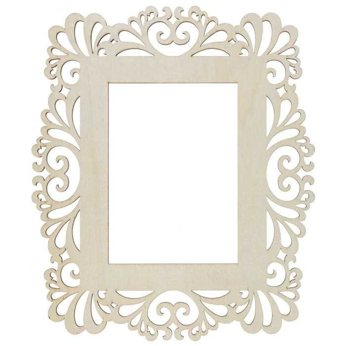 5 X 7 Natural Laser Cut Wood Frame Hobby Lobby 1170521