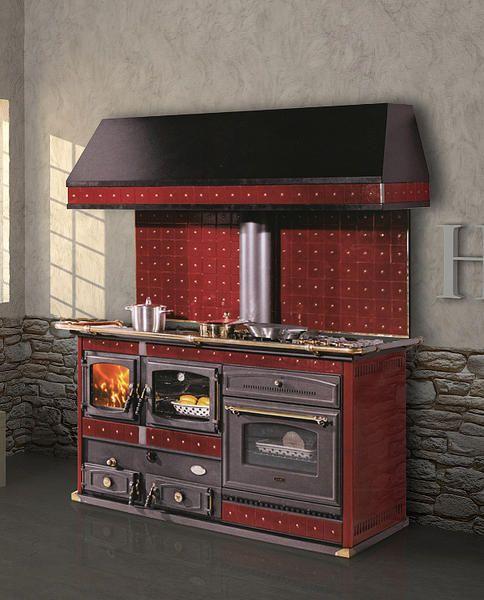 Termocucina a legna Termo Emmanuelle | Kitchen Decor | Pinterest ...