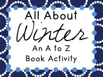 Winter A to Z Book Activity