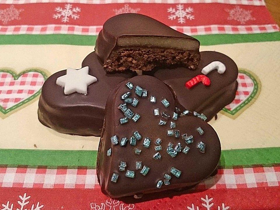 Sacher Herzen | Rezept | Kekse, Rezept kekse, Chefkoch