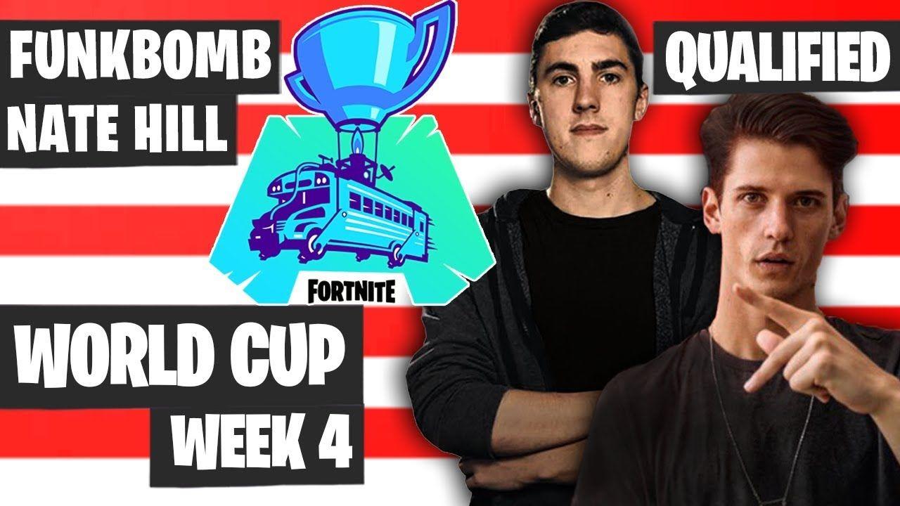 Funkbomb Nate Hill Fortnite World Cup Highlights Na East Qualified Duo World Cup Fortnite World Records