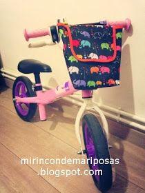 Cestita bici infantil tutorial