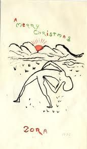 Xmas illustration from the 20s