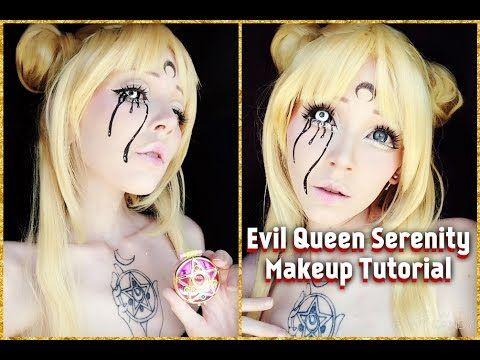 Sailor Moon Makeup Dark Moon Neo Queen Serenity Sailor Moon Makeup Sailor Moon Neo Queen Serenity