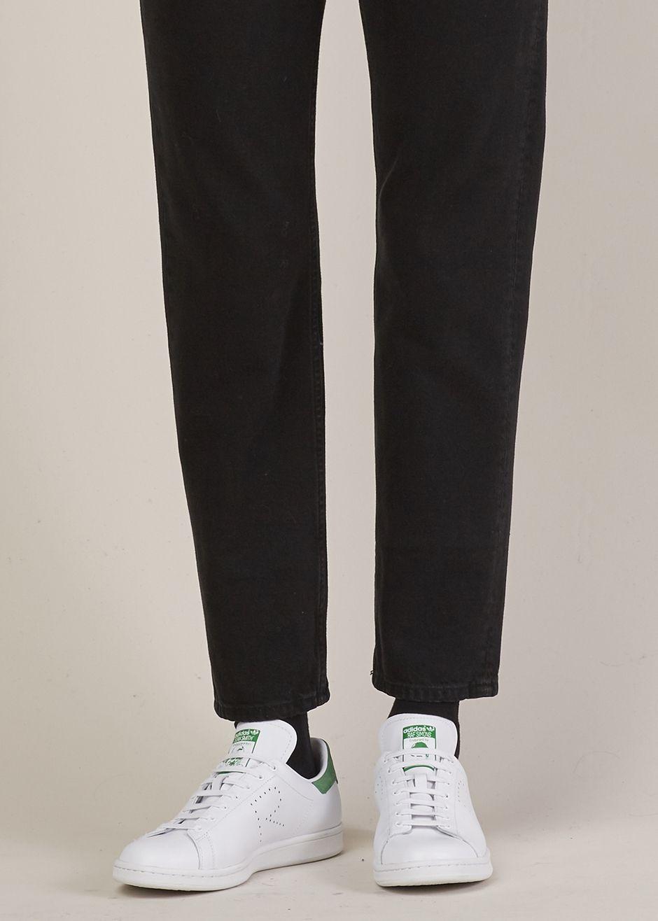 raf simons x adidas raf simons stan smith scarpa (bianco / verde