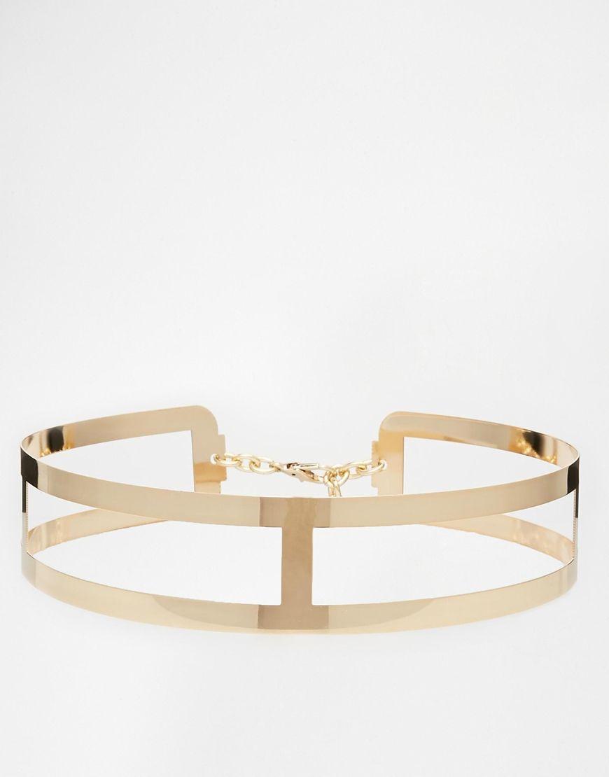 Gold Metal Waist Belt