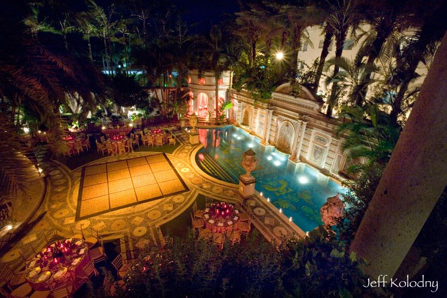 Details About The Versace Mansion And Weddings Held At This Property