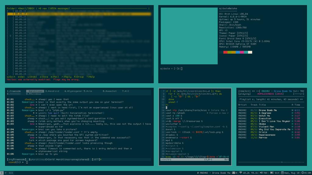 نتیجه تصویری برای i3 config