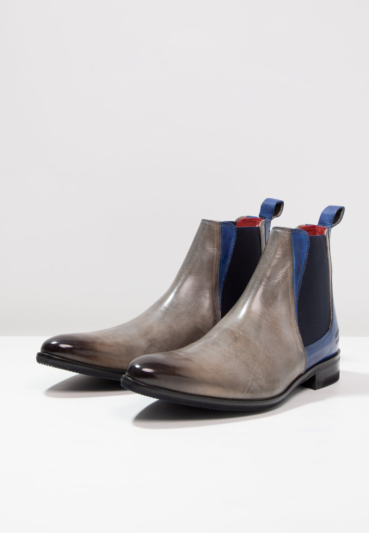 size 40 cad9c 60945 Melvin & Hamilton TONI - Bottines - morning grey/blue ...