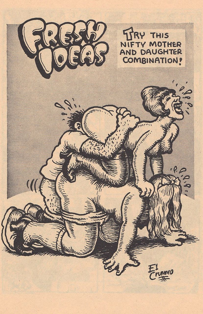 Original Robert Crumb Snatch Comics | POSTED 2 years ago ♥ 15 notes