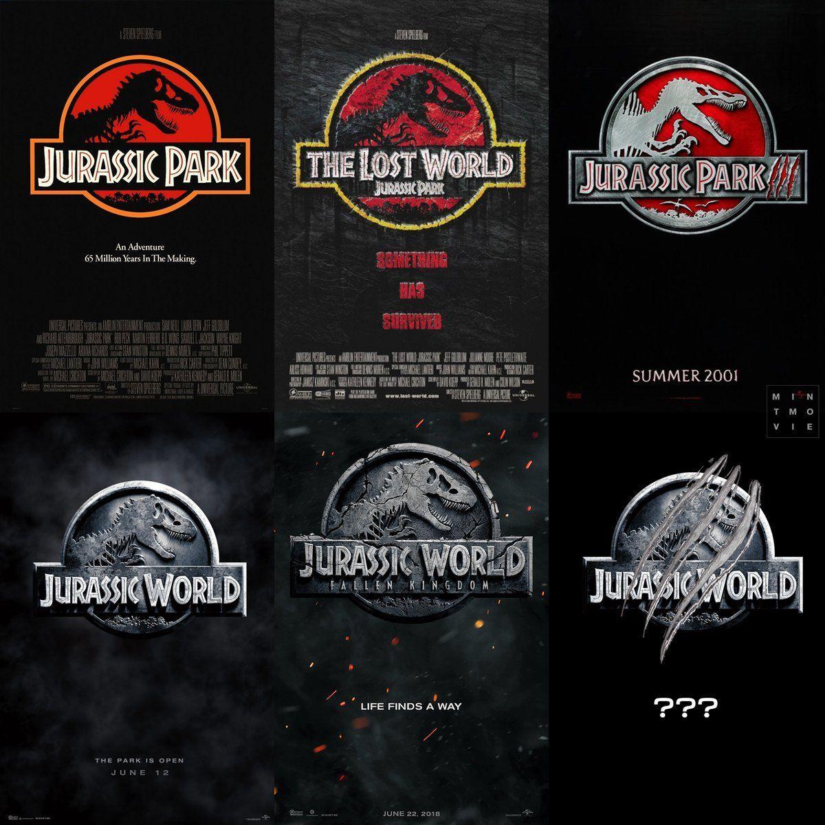 Jurassic Park 1993 The Lost World Jurassic Park 1997 Jurassic Park 03 2001 Jurassic Wo Jurassic Park Jurassic World Dinosaurs Jurassic World