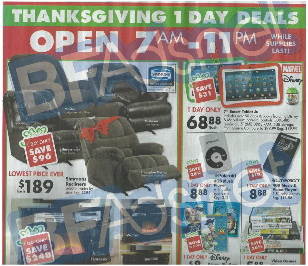 Big Lots Black Friday Ad 2013 Black friday ads, Black