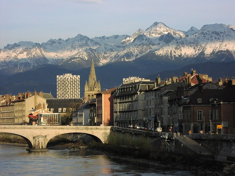 Grenoble France This Is The Most Beautiful Place I Have Ever