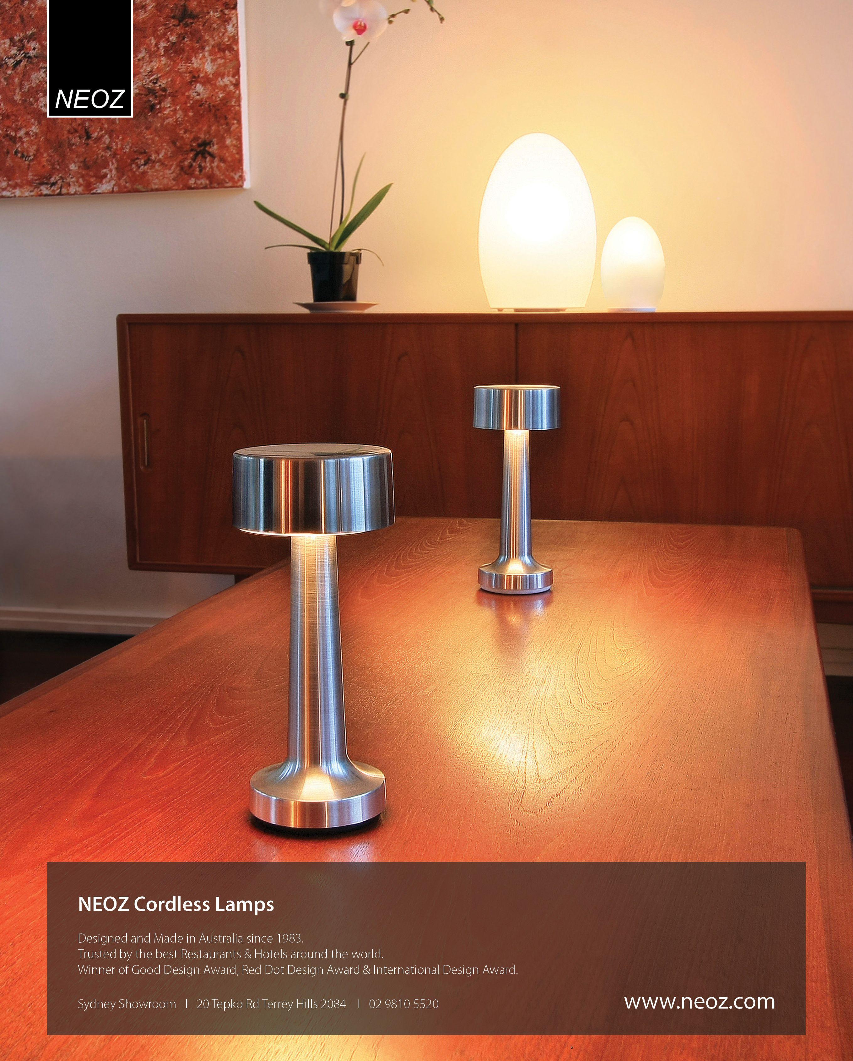 Neoz   Cooee 2c   Copper Color   Cordless lamps, Lamp ...
