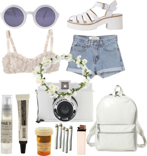 """festival attireeee"" by everyonewishestheriches ❤ liked on Polyvore"