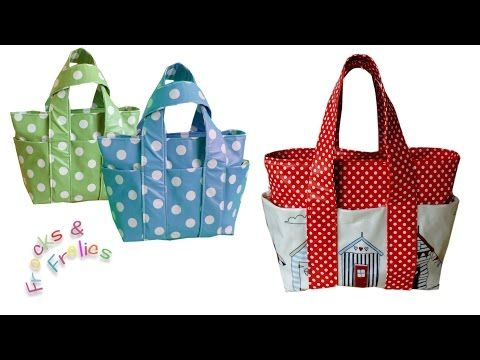 Wie man eine Tasche näht - Schritt für Schritt Nähanleitung (Box Bag ...