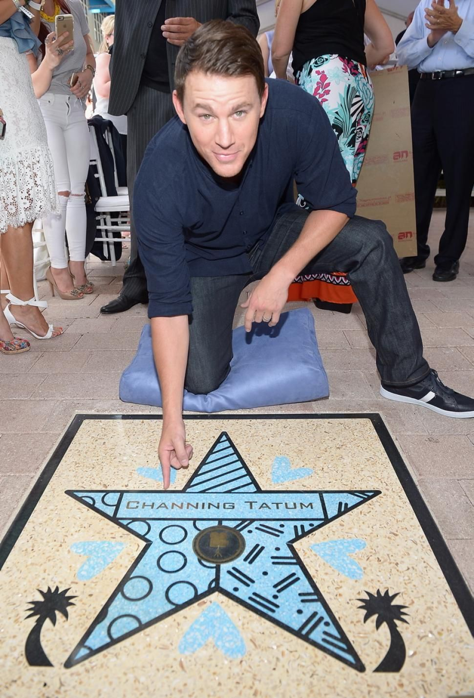 Channing Tatum Wears The Kasama While Receiving His Star On The